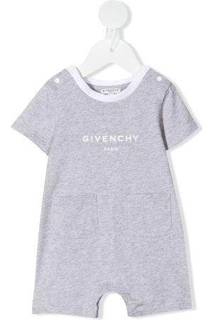 Givenchy Logo-print shorties - Grey