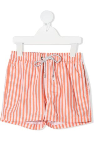 KNOT Striped swim shorts