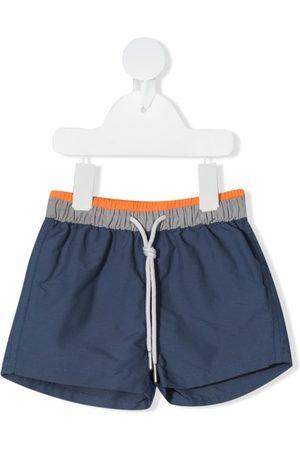 KNOT Colour-panelled swim shorts