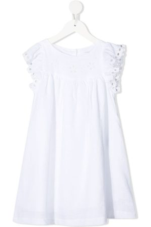 KNOT Camille broderie-anglaise smock dress