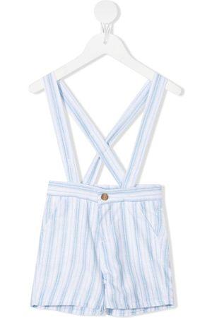 KNOT Shorts - Jay stripe-print shoulder-strap shorts
