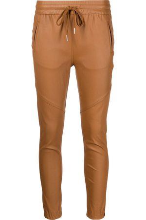 JOHN ELLIOTT Escobar stretch-leather trousers