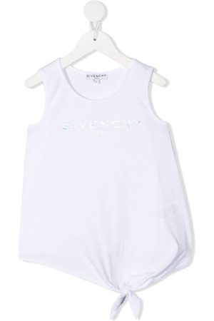 Givenchy Embellished logo tank top