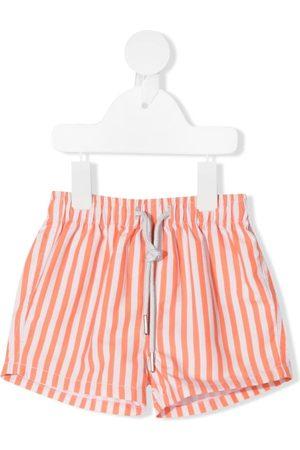 KNOT Striped swim shorts
