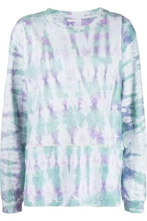 JOHN ELLIOTT Women Long Sleeve - Tie-dye print long-sleeve T-Shirt - Multicolour