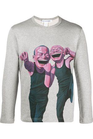 Comme des Garçons Graphic-print sweatshirt - Grey
