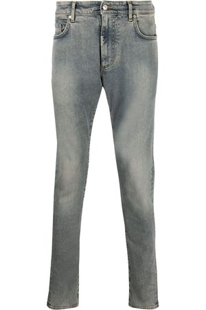 Represent Washed skinny-cut jeans