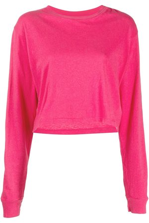 JOHN ELLIOTT Cropped long-sleeve T-shirt