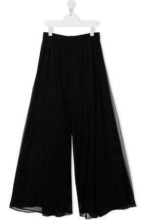 MONNALISA TEEN wide-leg flared trousers