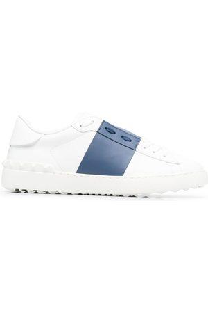 VALENTINO GARAVANI Men Sneakers - Contrast-panel logo-print sneakers