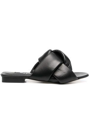 Msgm Interwoven flat sandals