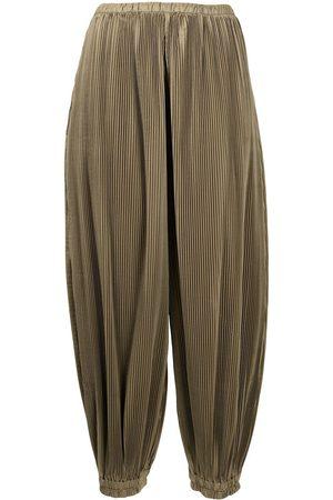 ENFÖLD Women Pants - Plissé tapered trousers
