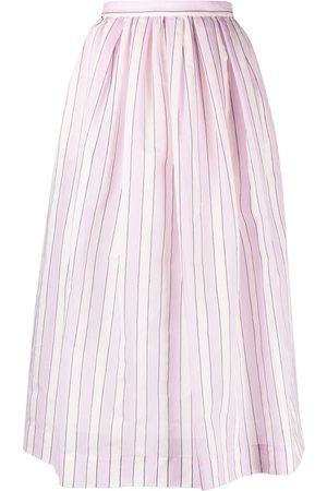 TELA Women Skirts - Striped A-line skirt