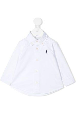 Ralph Lauren Shirts - Logo-embroidered button-down shirt