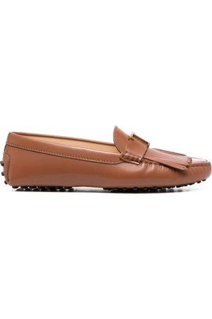 Tod's Gommino fringed loafers