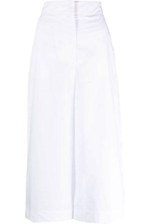 Msgm Women Wide Leg Pants - Wide-leg culottes
