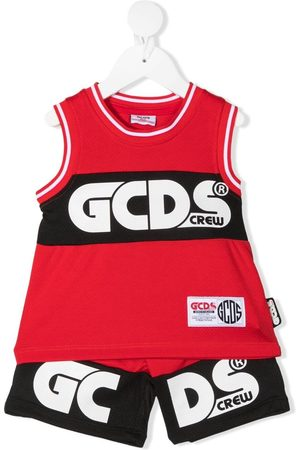 GCDS Logo print tracksuit set
