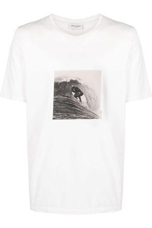 Saint Laurent Surfer print T-shirt