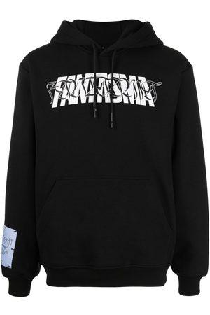 McQ Fantasma slogan print hoodie