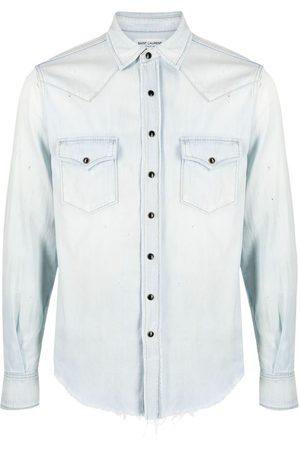 Saint Laurent Western denim shirt