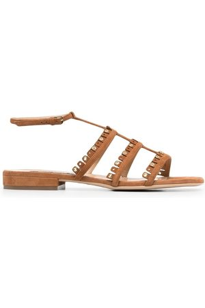 Sergio Rossi Stud-embellished leather sandals