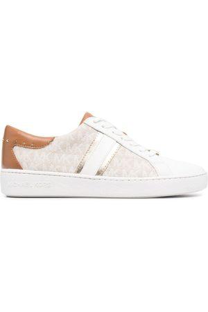 Michael Kors Women Sneakers - Keaton monogram-print trainers