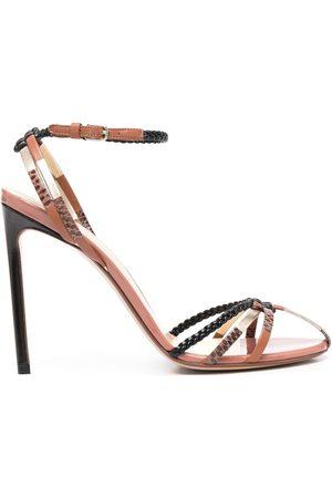 Francesco Russo Braided-detail sandals