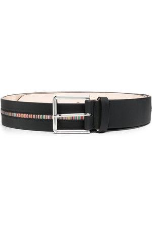 Paul Smith Men Belts - Artist-stripe leather belt