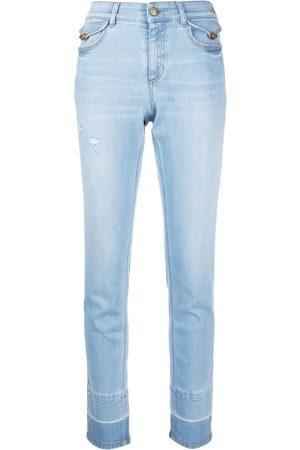 VERSACE Skinny-cut denim jeans