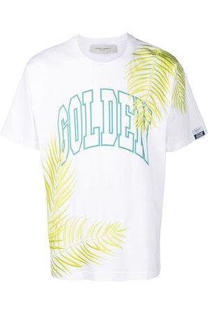 Golden Goose Men T-shirts - Golden logo-print T-shirt