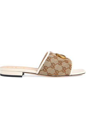 Gucci Double G slide sandals - Neutrals