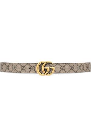 Gucci GG Marmont reversible belt - Neutrals