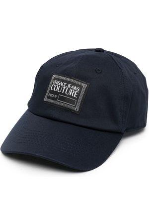 VERSACE Women Caps - Logo-patch cotton cap