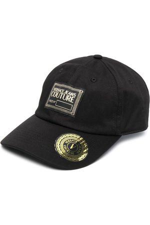 VERSACE Logo-patch cotton cap