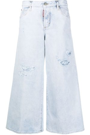 Dsquared2 Women High Waisted - High-rise flared jeans
