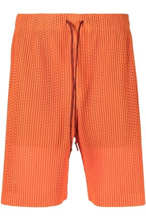 HOMME PLISSÉ ISSEY MIYAKE Men Sports Shorts - Drawstring track shorts
