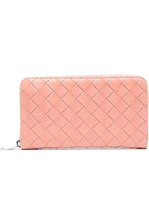 Bottega Veneta Women Wallets - Intrecciato zip-around wallet