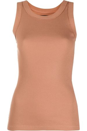 Styland Fitted tank top - Neutrals