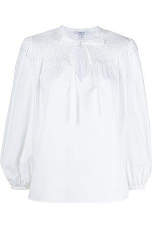 Derek Lam Tie-fastening long-sleeve blouse