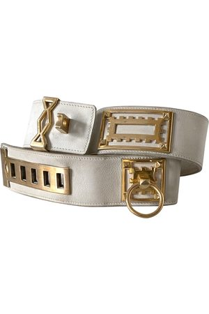 Hermès VINTAGE Collier de chien Leather Belt for Women