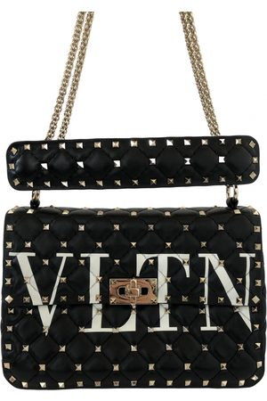 VALENTINO GARAVANI Rockstud spike leather handbag