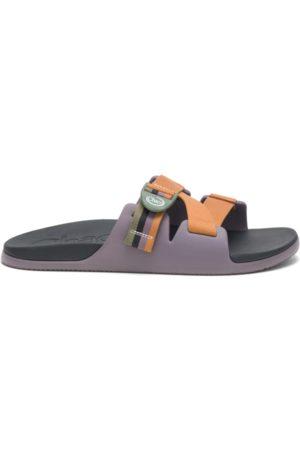 Chaco Men Sandals - Men's Chillos Slide Patchwork , Size 7 Medium Width