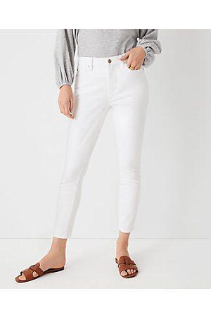ANN TAYLOR Women Skinny - Curvy Sculpting Pocket Mid Rise Skinny Jeans in