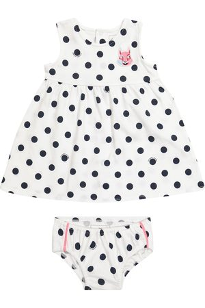 The Marc Jacobs Sets - Baby polka-dot cotton dress and bloomers set