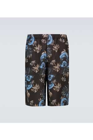 UNDERCOVER Floral printed shorts