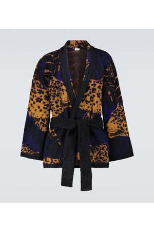 Saint Laurent Knitted shawl cardigan