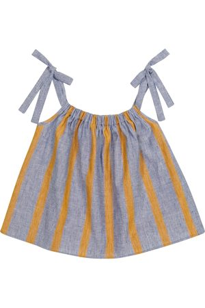 PAADE Girls Tops - Sasha linen and cotton top