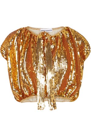 Paco rabanne Sequined capelet
