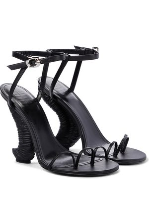 Givenchy Horn 105 leather sandals