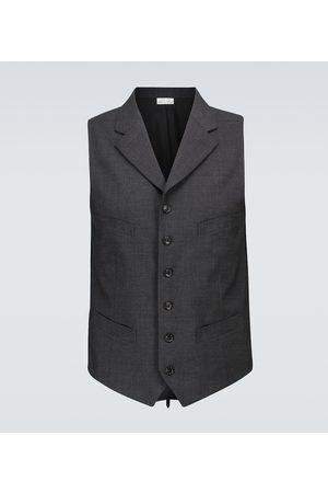 COMME DES GARÇONS HOMME DEUX Stretch-wool vest